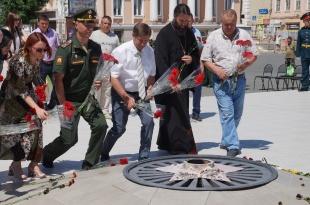 Минута молчания 22 июня в Вольске