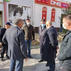 Рабочее совещание главы Вольского района Матвеева В.Г. на Революционной