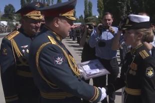 Военный институт в Вольске выпустил более 300 офицеров