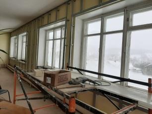 В Доме культуры села Колояр приступили к ремонту