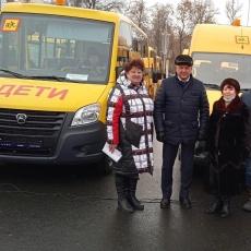Вольский район получил новые школьные автобусы