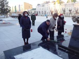 В Вольске почтили память Героев Отечества