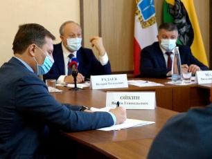 Глава региона обсудил тему увеличения доходов бюджета Вольского района