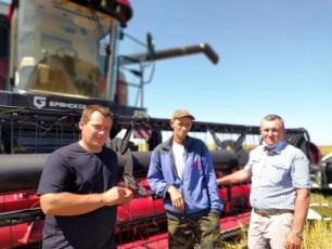 Вольский район приступил к уборке зерновых культур