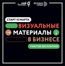 Федеральная онлайн-программа для предпринимателей Саратовской области «Визуальные материалы в бизнесе»