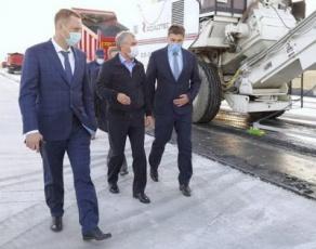 Вячеслав Володин ознакомился с ходом строительства объездной дороги у станции Сенная в Вольском районе