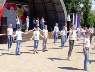 Вольск традиционно ярко отметил День России