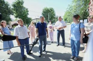 Все тротуары в исторической части Вольска отремонтируют в этом году