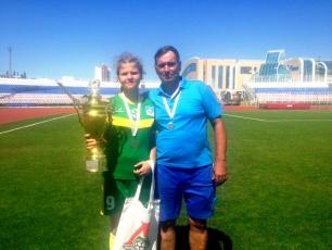 Вольчанка Елизавета Тимофеева помогла сборной области завоевать серебряную медаль